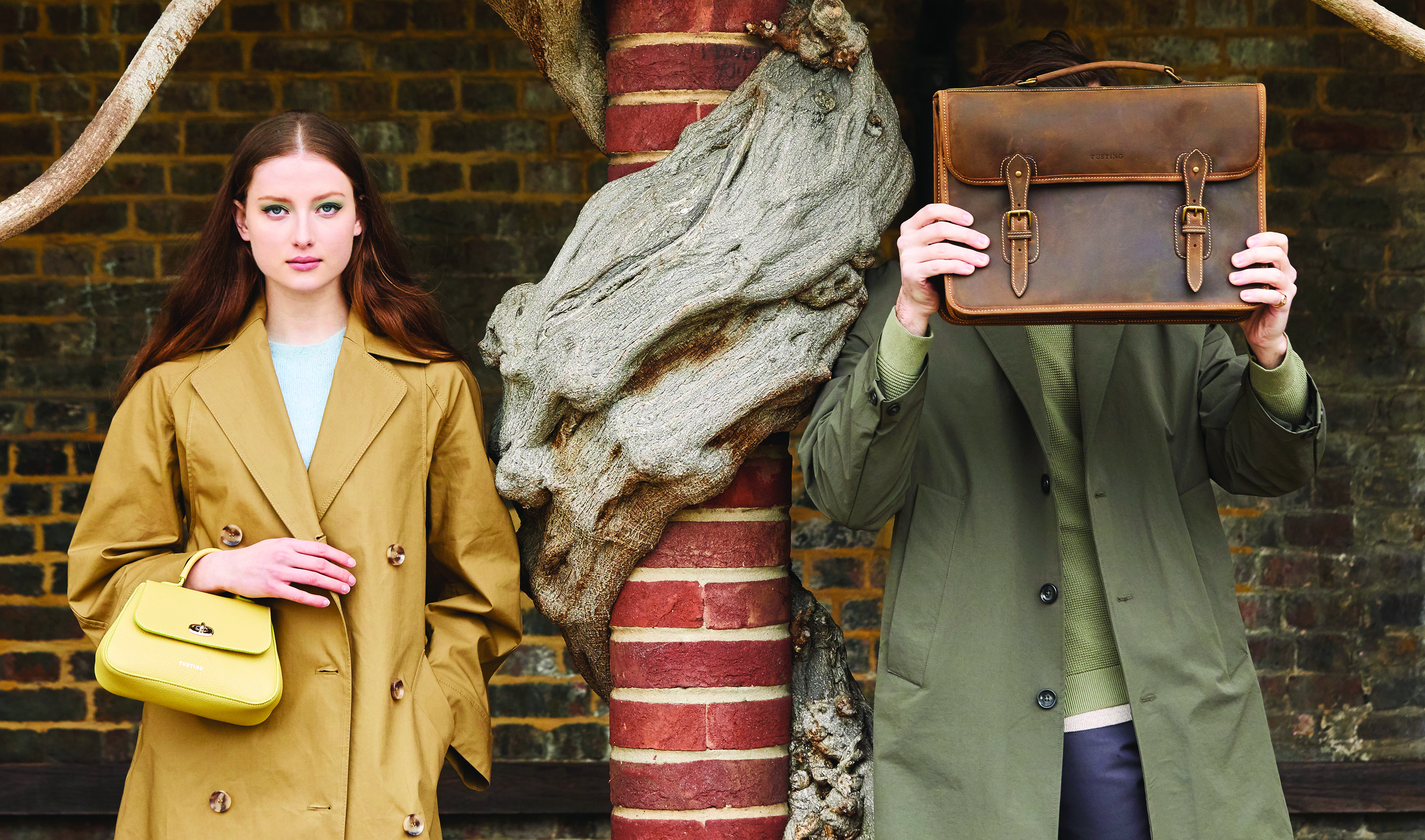 Tusting leather goods is owned by Authentic Bespoke.