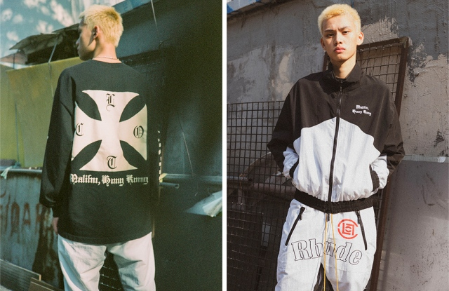Rhude and Clot's Double Happiness collection