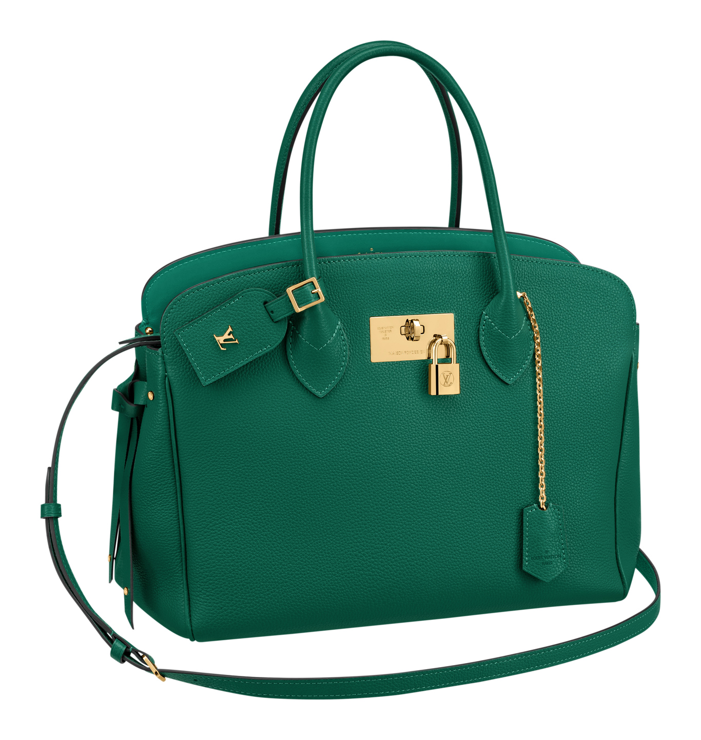 Louis VuittonÕs high-end leather bag ÔThe MillaÕ
