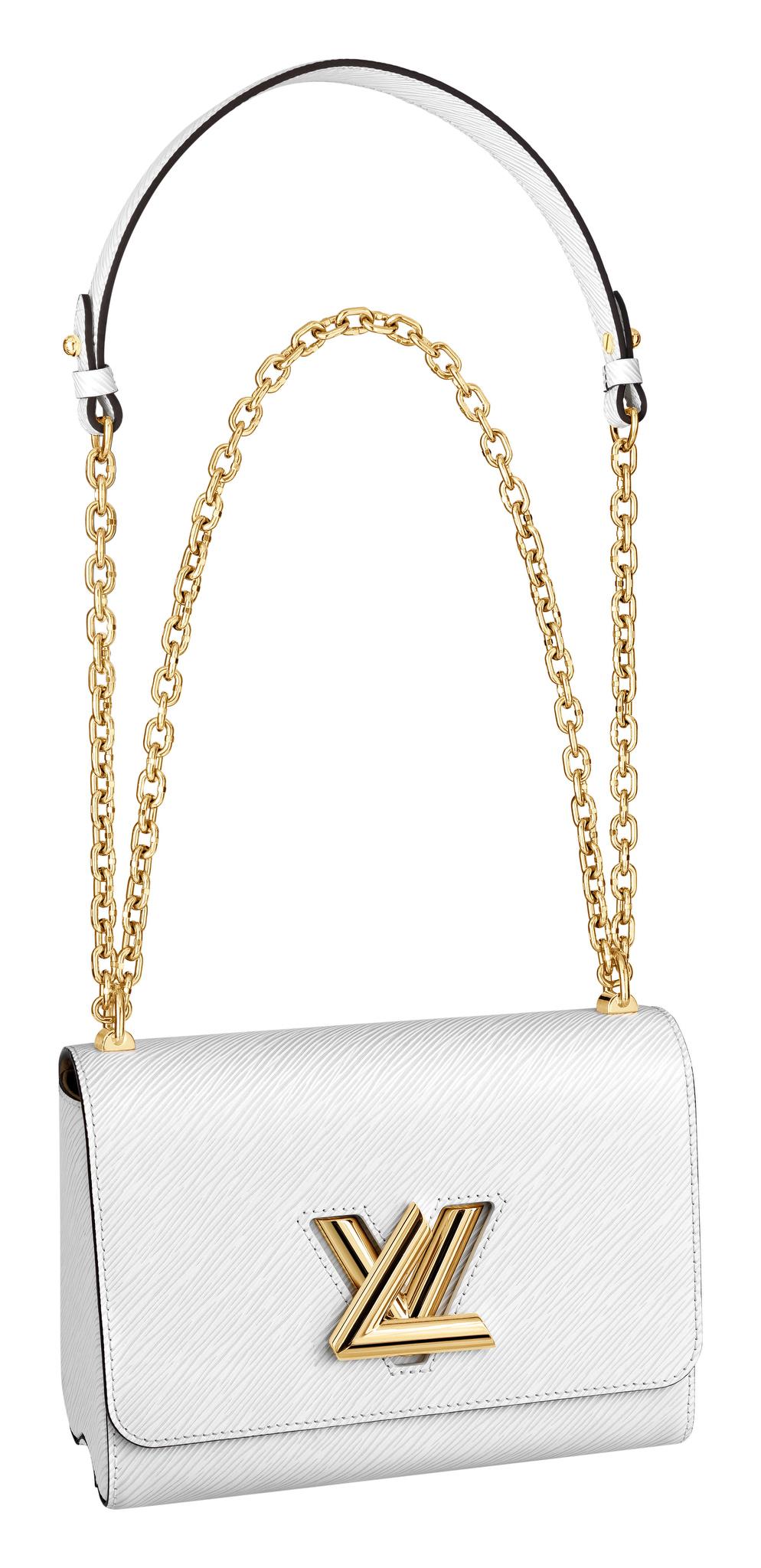 Louis VuittonÕs Twist bag, designed by Nicolas Ghesquire