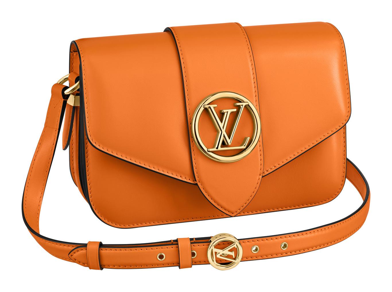 VuittonÕs new ÒPont 9Ó bag, launching this week worlwide