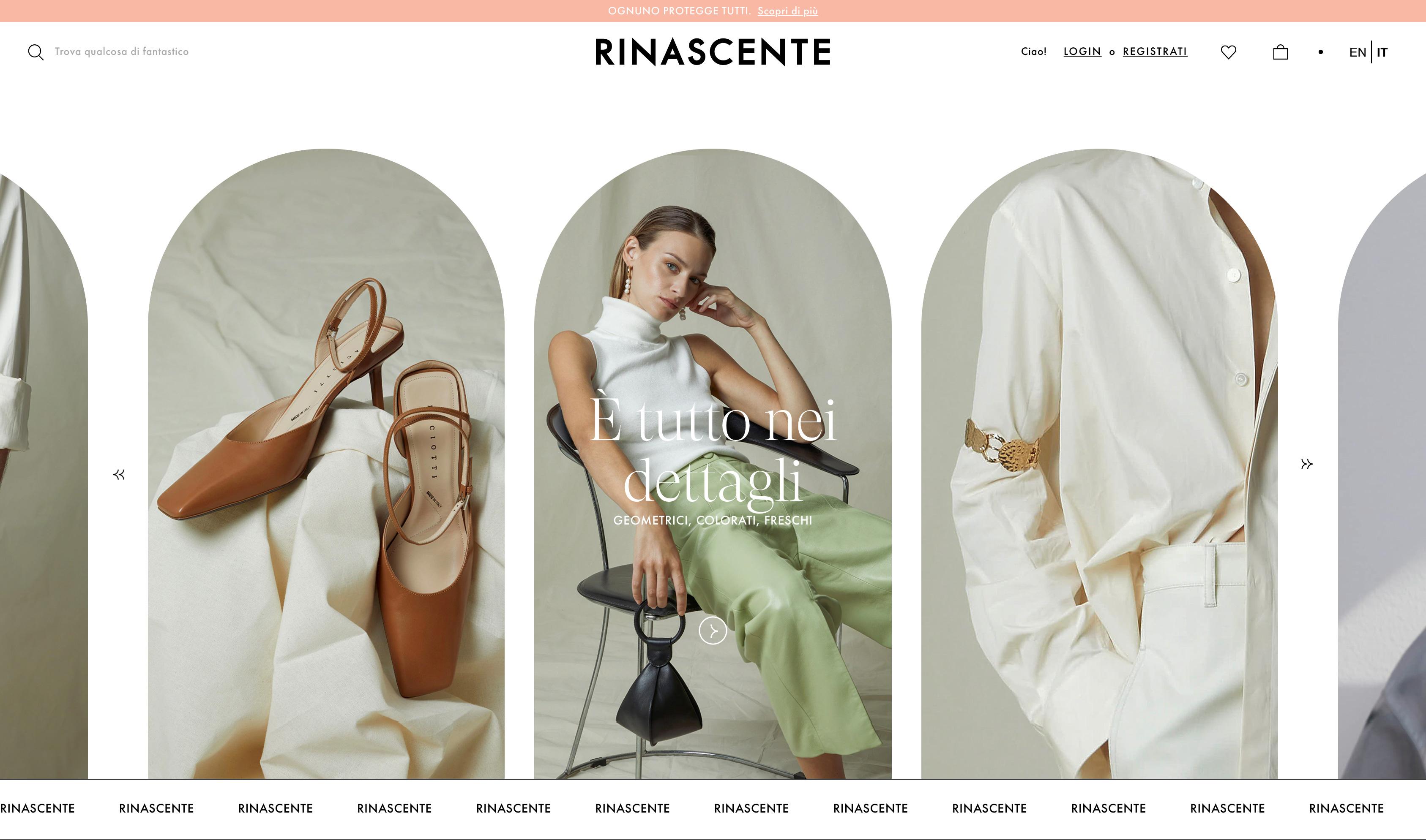 Rinascente online store