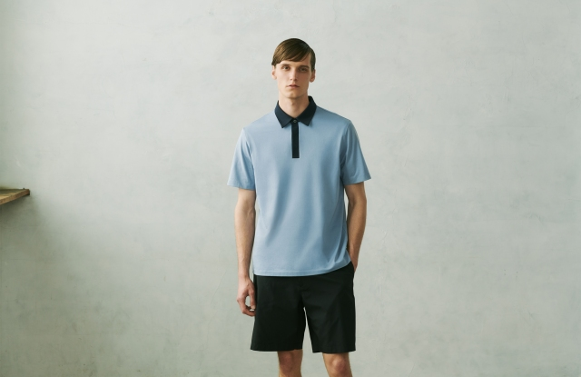 A look from the Theory-designed collection for Uniqlo.