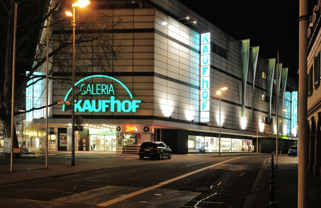 Galeria Kaufhof store in Mainz, Germany.