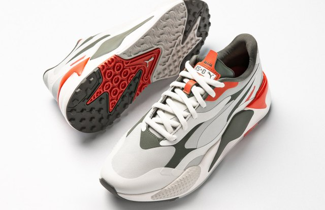 The Puma RS-G golf shoe.