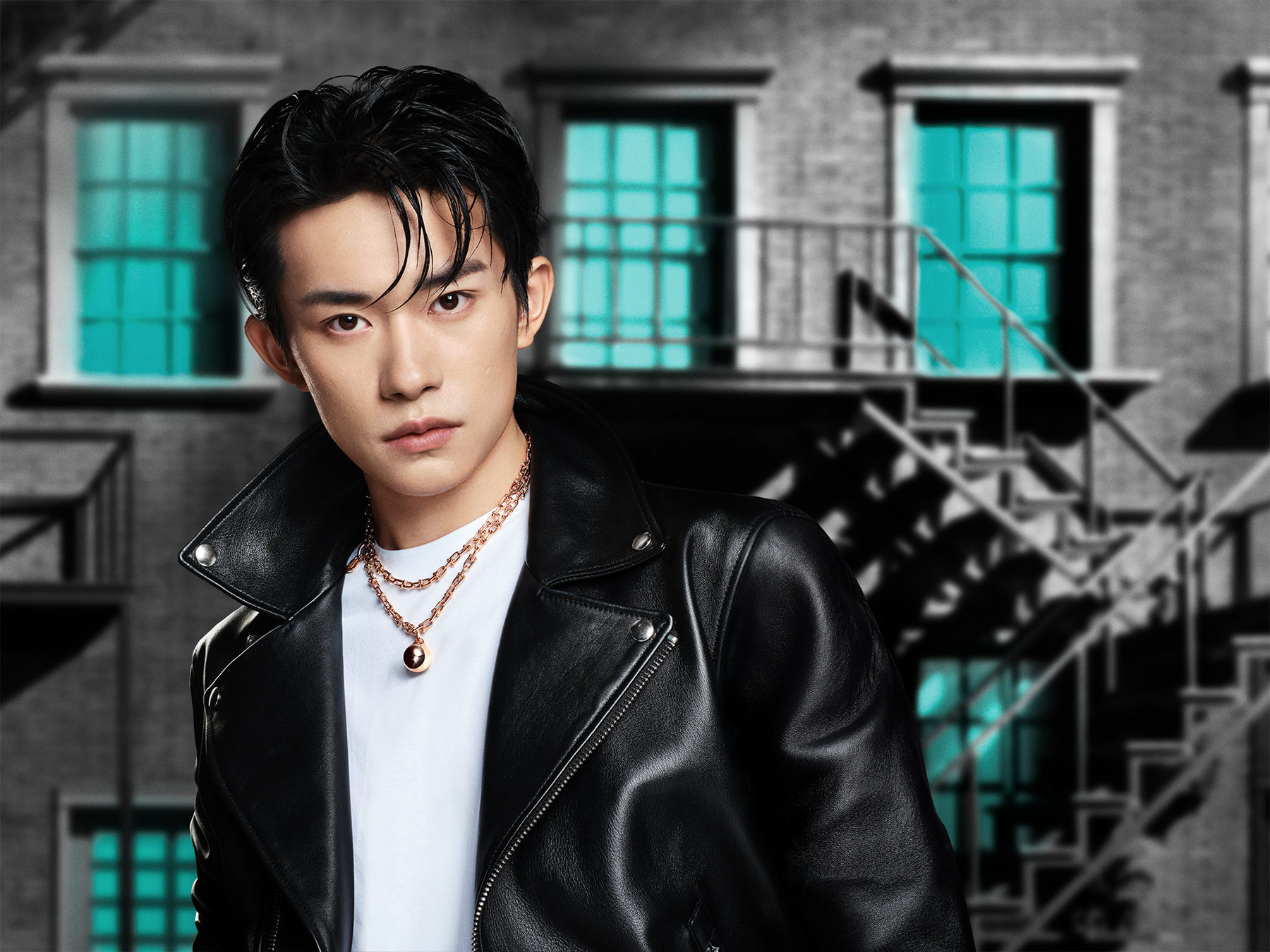 Jackson Yee is the new face of Tiffany & Co.'s T jewelry collection in China.