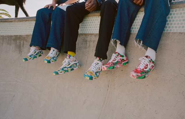 Kenzo x Vans sneakers
