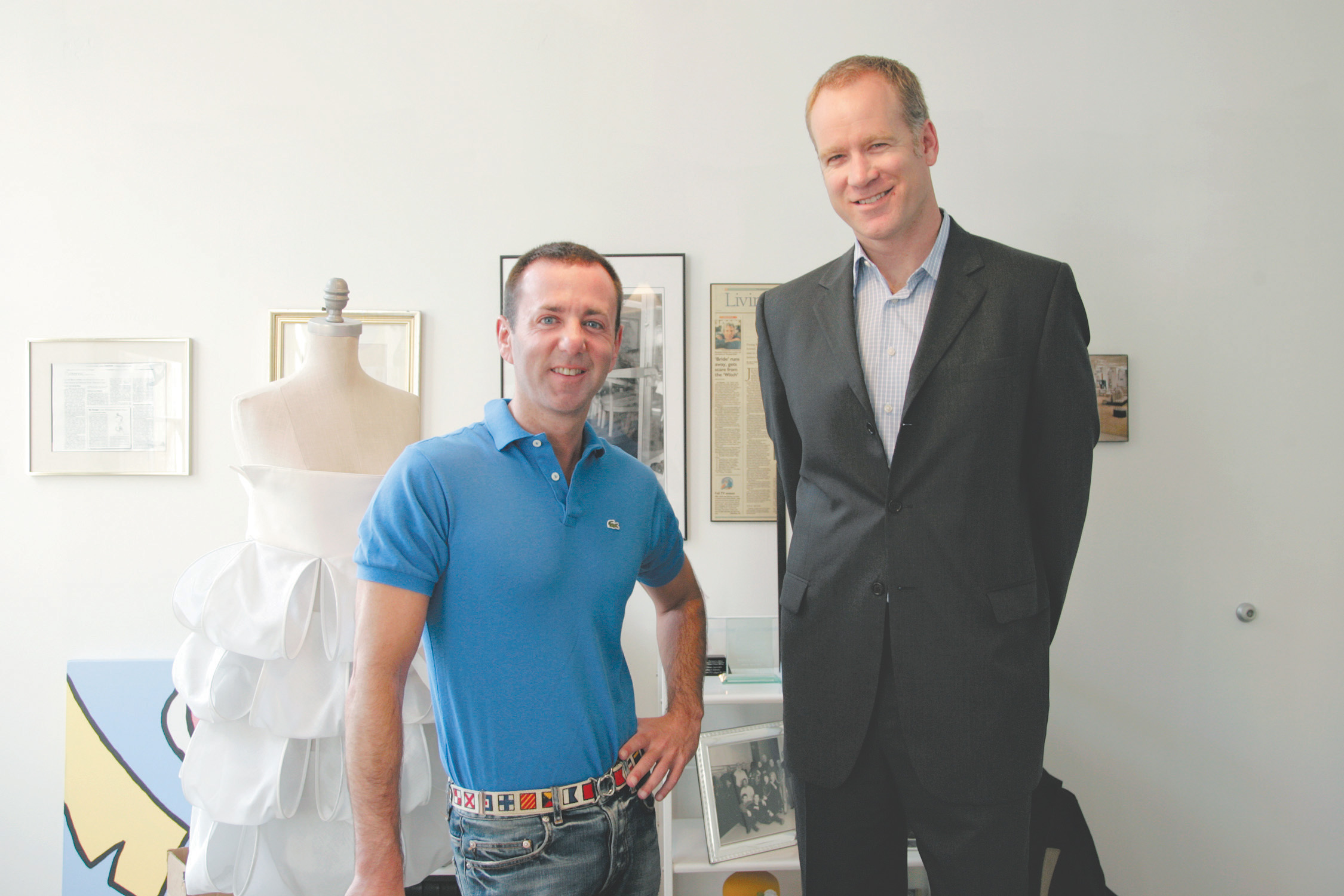 Jeffrey Kalinsky and Pete Nordstrom