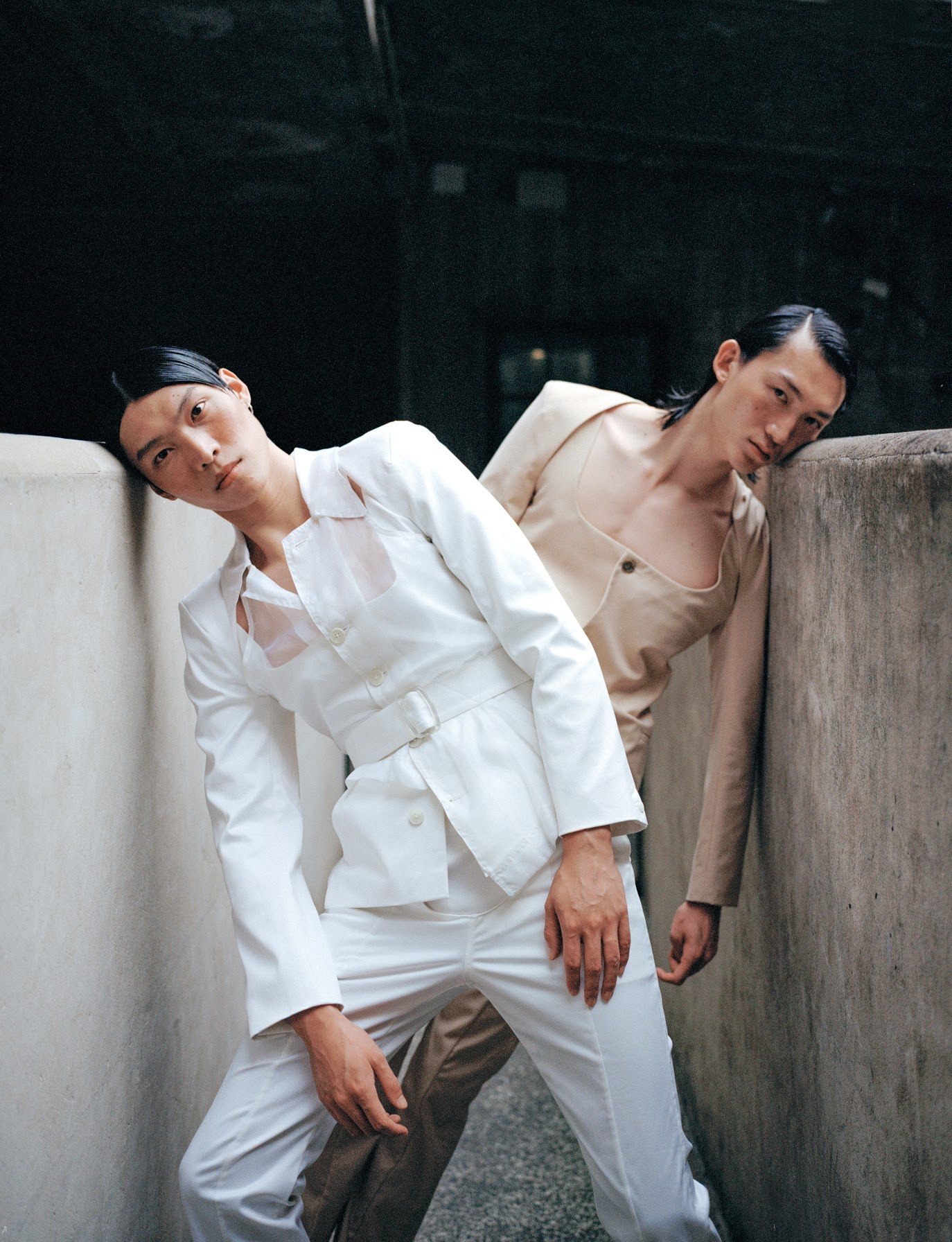 A look from Hong Kong-based brand Ponder.er's spring 2020 collection.
