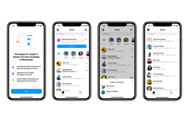 Facebook launcheds business inbox in Messenger.