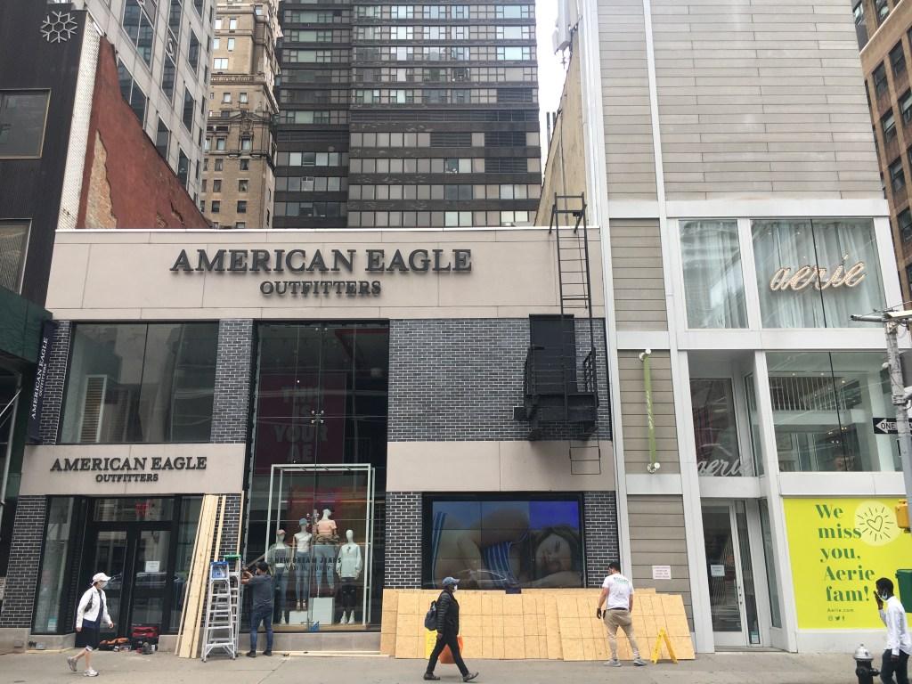 American Eagle Aerie store