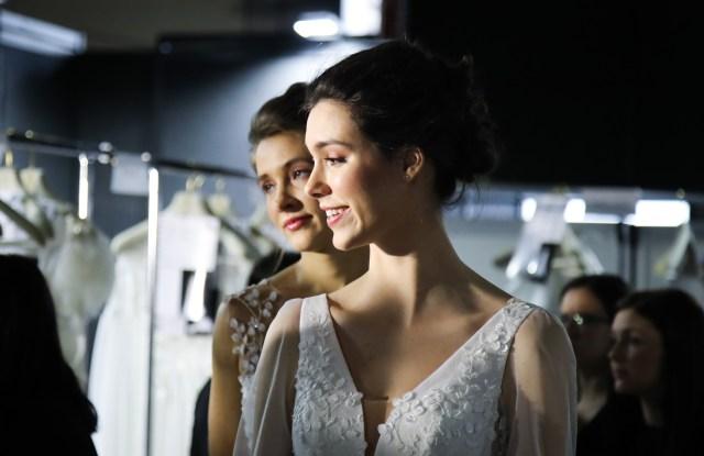 bridal backstage