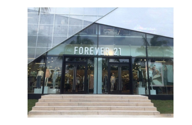A Forever 21 store in Cancun.