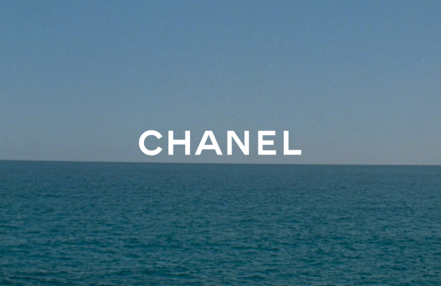 A teaser image for Chanel's 2021 cruise collection.