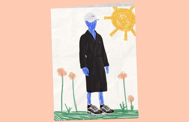 Kohl's and Macy's prepare their Father's Day guides with robes, sneakers, and hats.