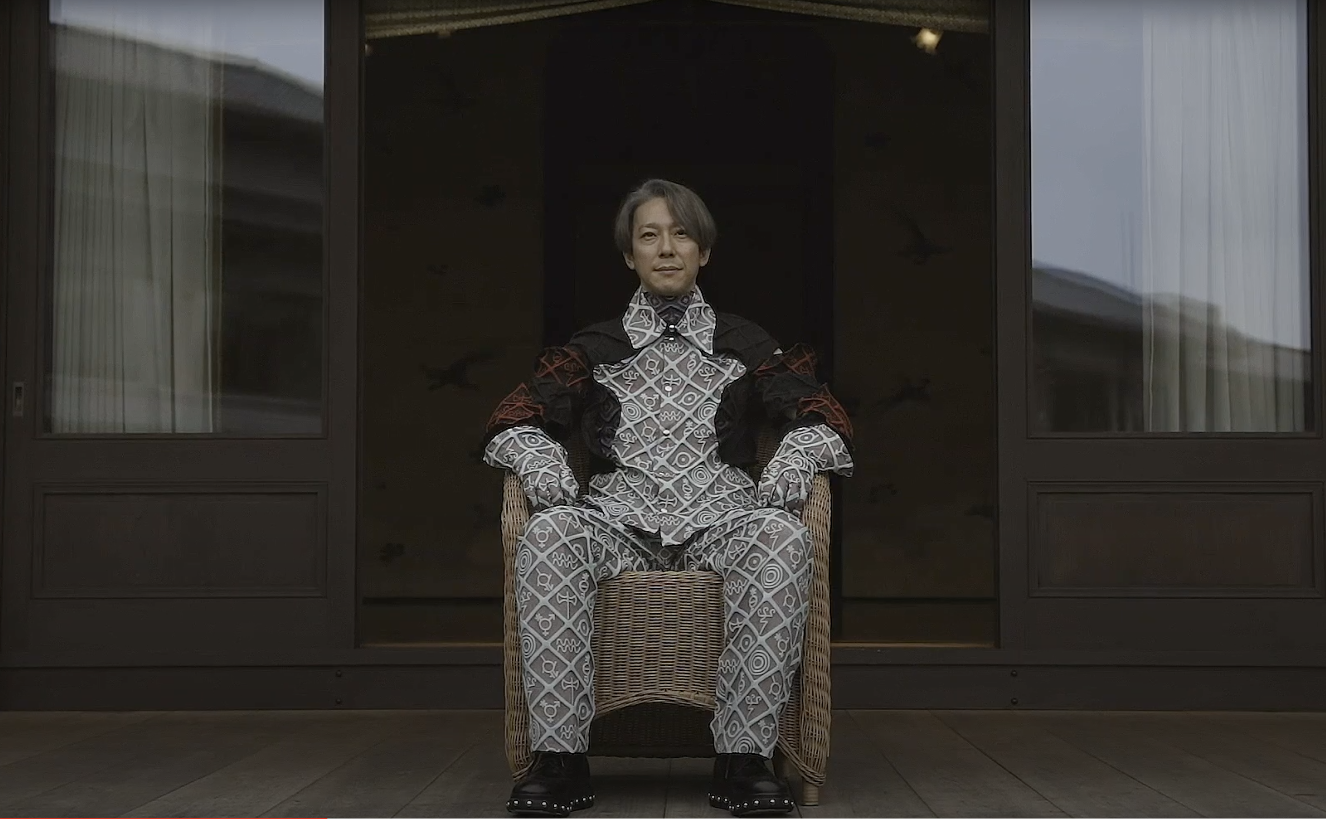Motoaki Higashino, a great-great-grandson of Japan's Emperor Meiji, featured in a series of film presented by Japanese retailer GR8.