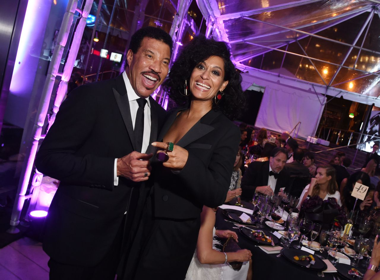 Lionel Richie and Tracee Ellis Ross, 2016