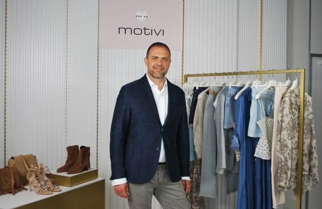 Motivi brand director Furio Visentin