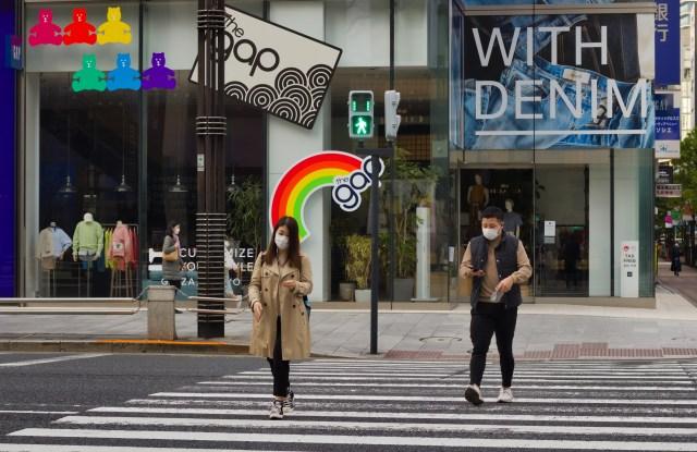 Gap store, Japan