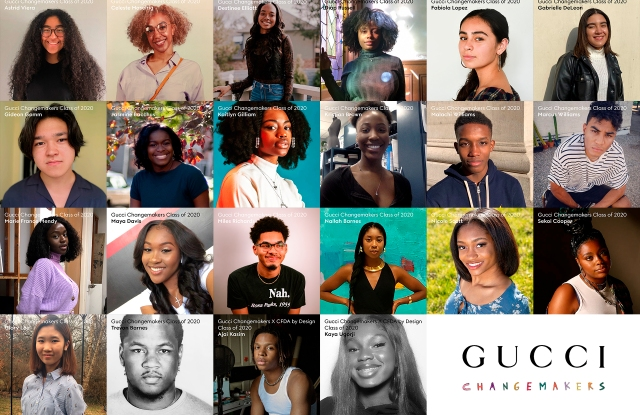 The Gucci North America Changemaker Scholars