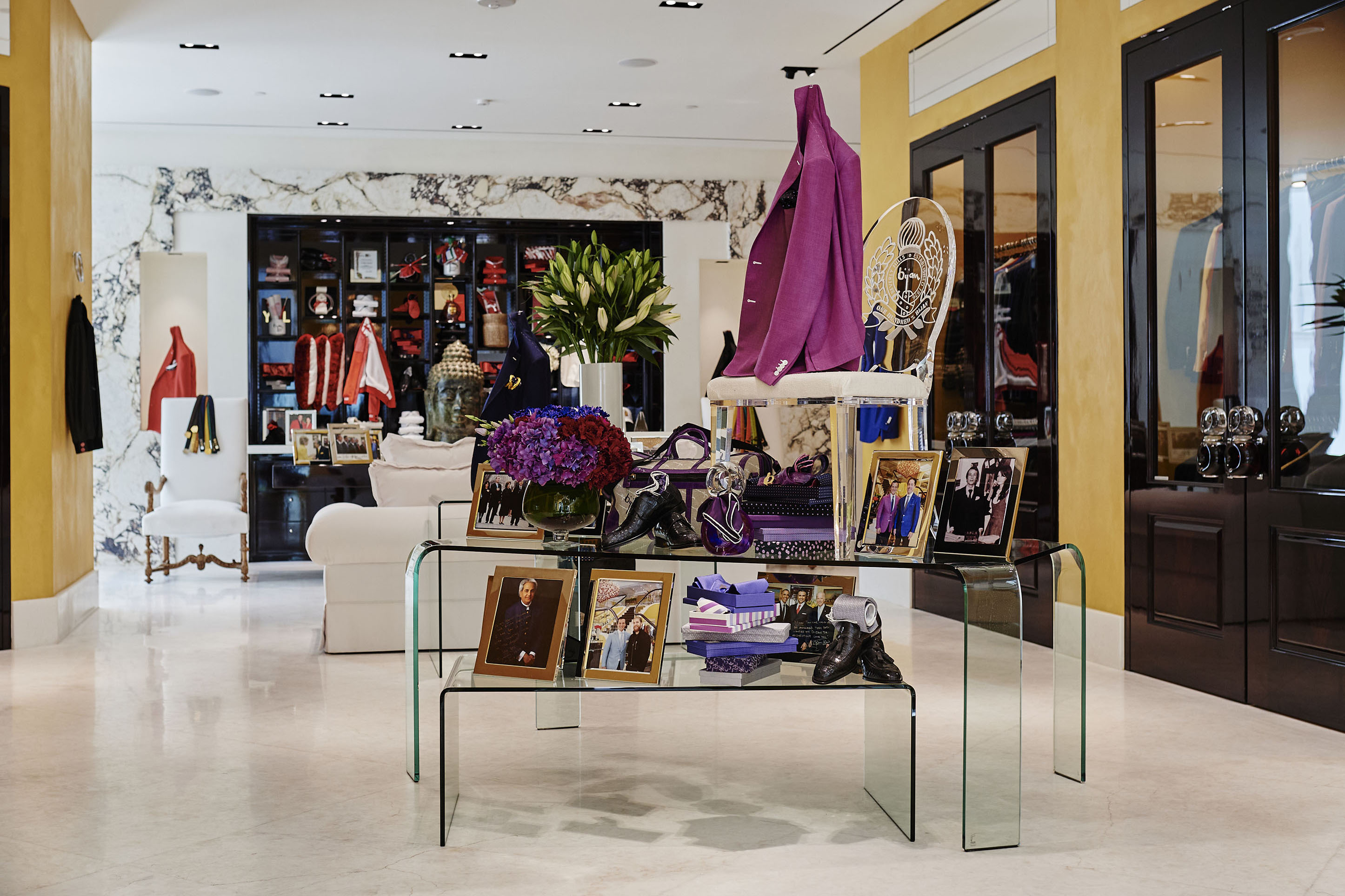 The House of Bijan store on Rodeo Drive.