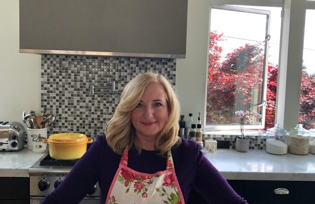 Gemma Lionello in her Seattle kitchen.