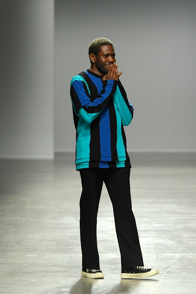Kenneth Ize on the catwalkKenneth Ize show, Runway, Fall Winter 2020, Paris Fashion Week, France - 24 Feb 2020