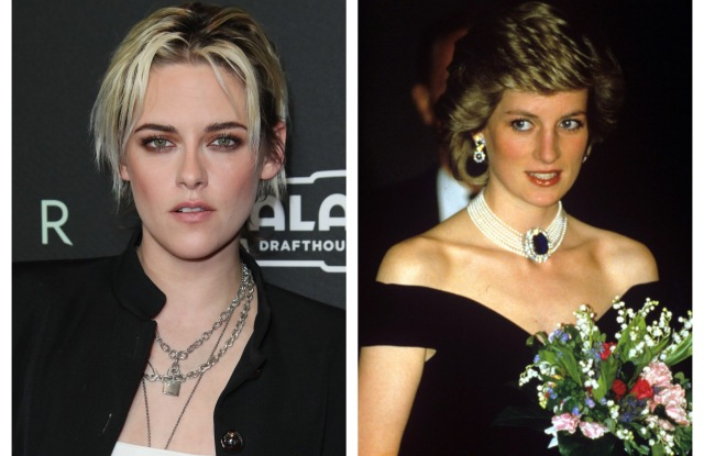 Kristen Stewart Is Playing Princess Diana in an Upcoming Movie