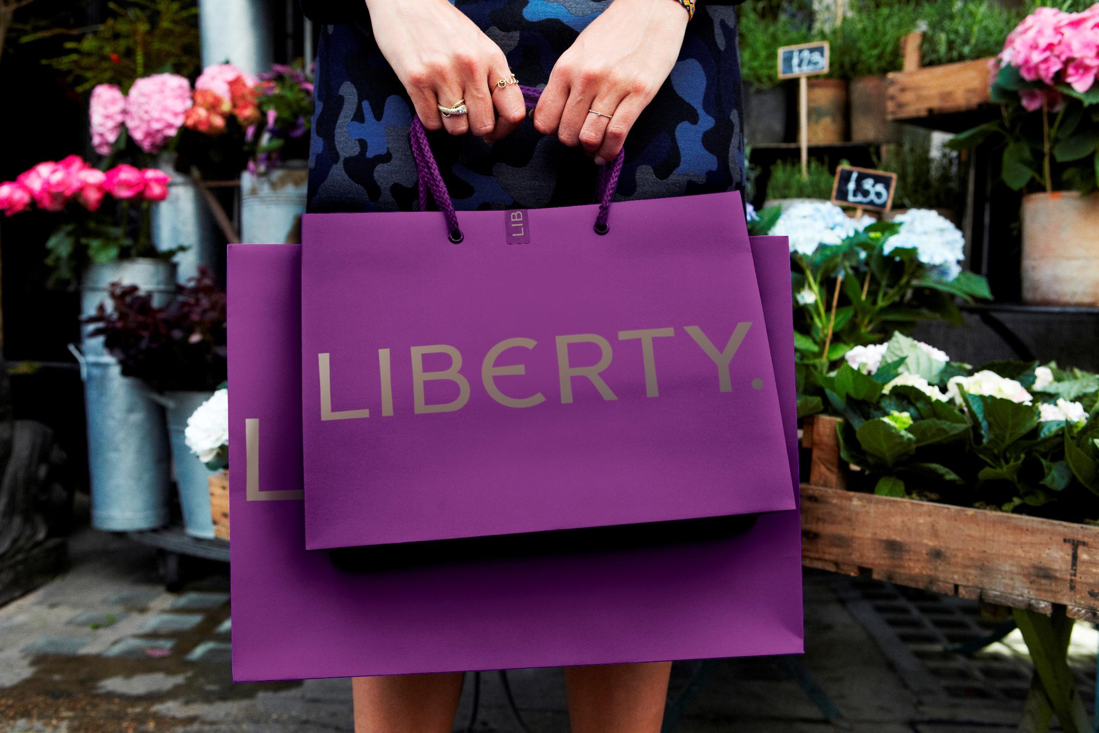Liberty's latest logo.