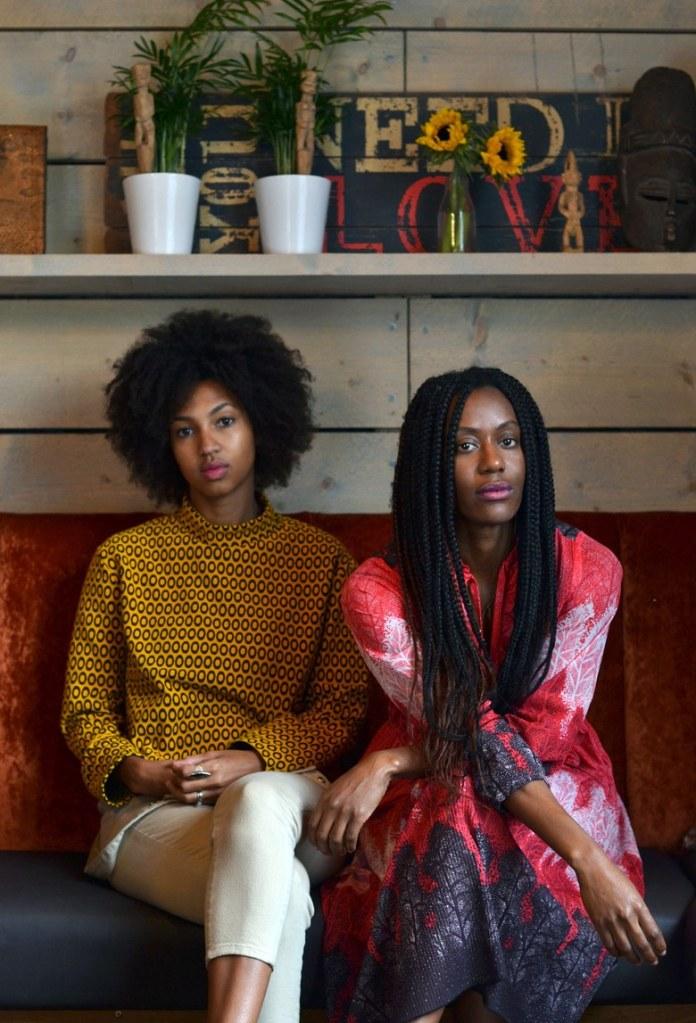 Liha Okunniwa and Abi Oyepitan