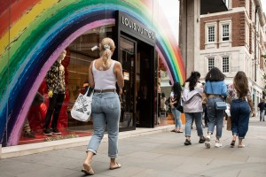 London retail reopens following the Covid-19 closures.