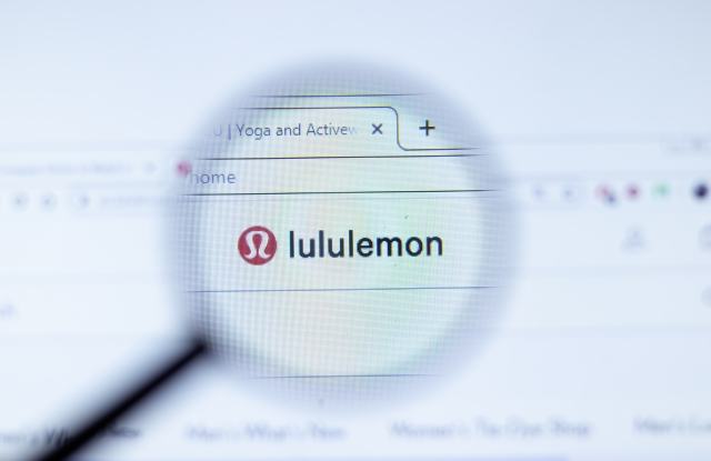 Lululemon website