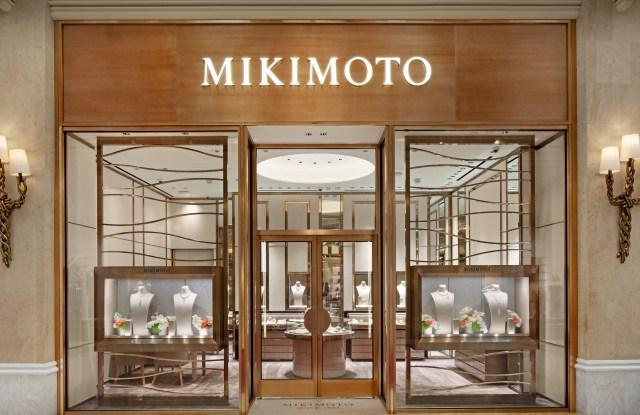 Mikimoto boutique at Wynn Las Vegas.