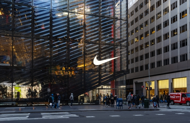 Nike store New York City