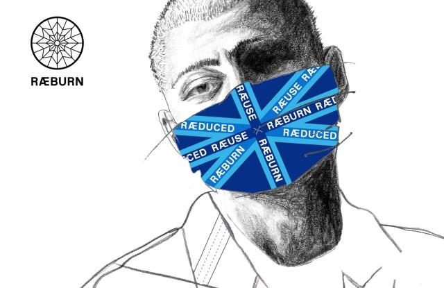 Raeburn's face covering design