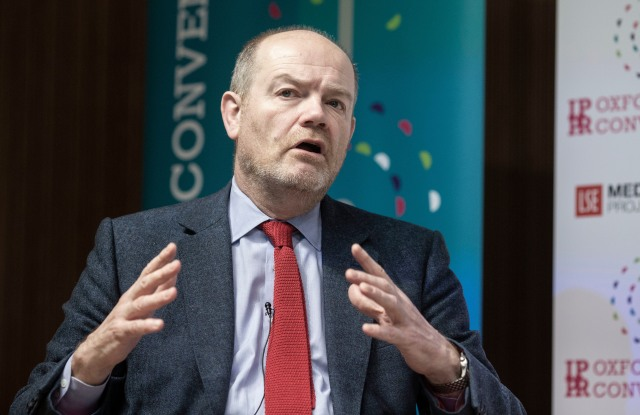 Mark Thompson, President and Chief Executive,New York Times Company speaks at the IPPR Oxford Media Convention.IPPR Oxford Media Convention, UK - 18 Mar 2019