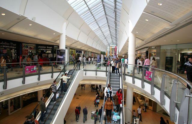 The MallLakeside shopping centre, Thurrock, Essex, Britain - 2008