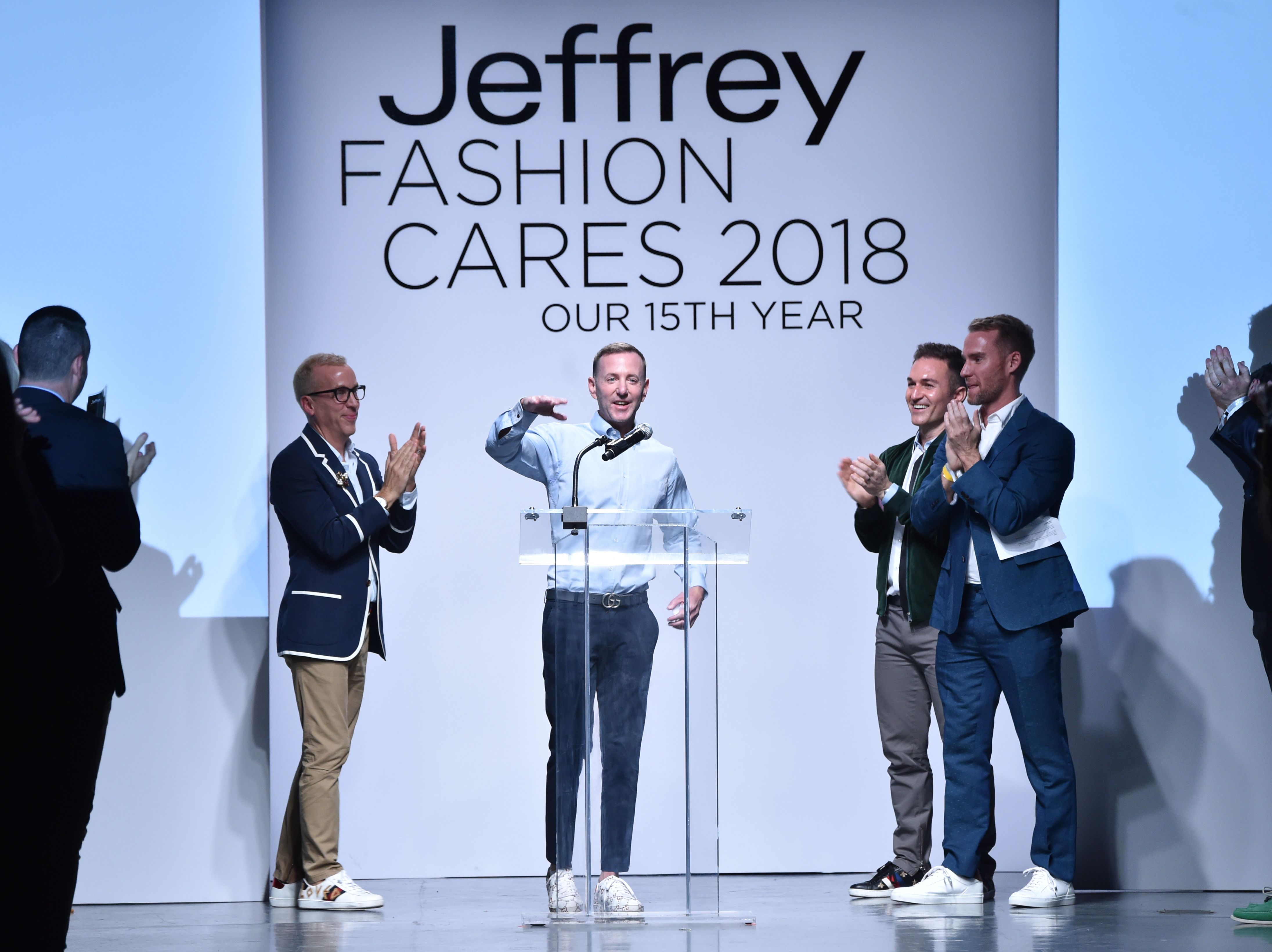 Jeffrey KalinskyJeffrey Fashion Cares Fashion Show and Fundraiser, Runway, New York, USA - 11 Apr 2018