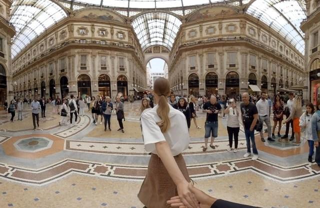 Prada virtual reality project