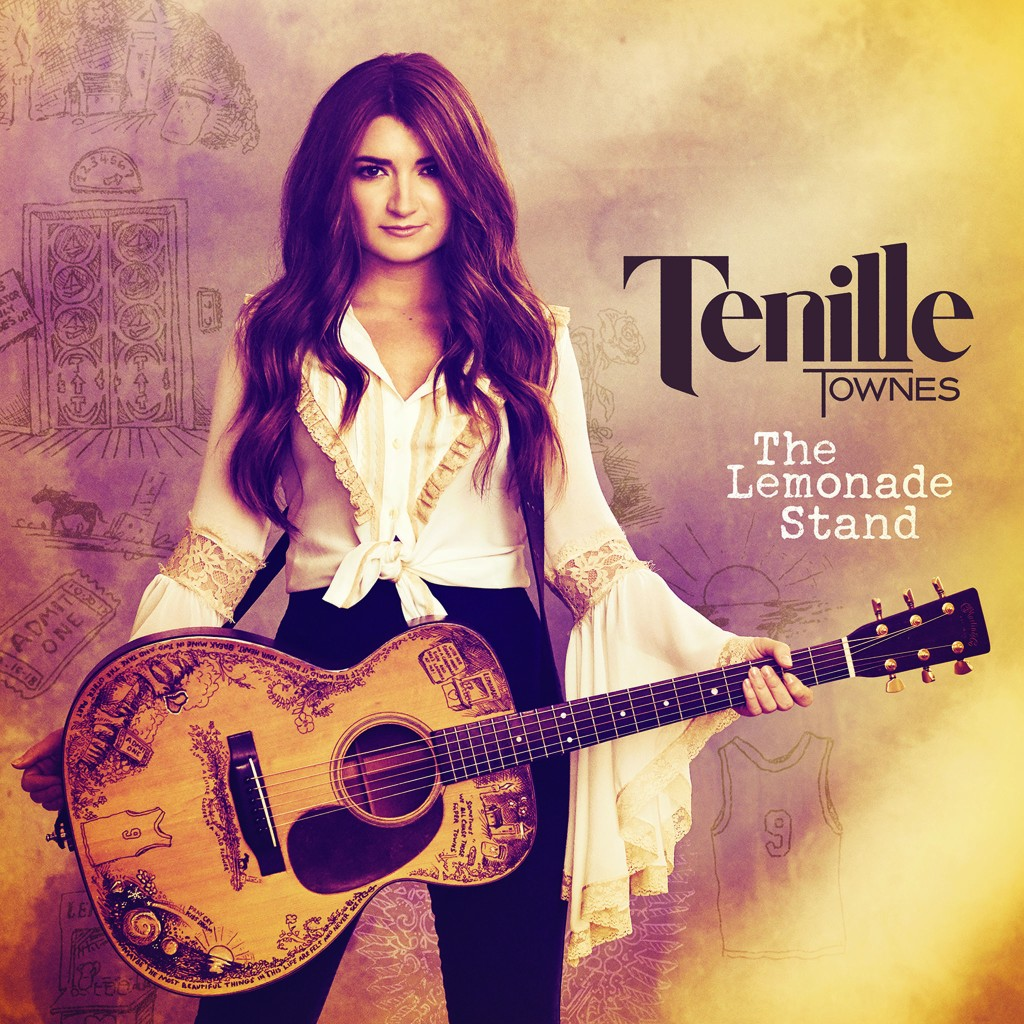"The album cover of Tenille Townes' album, ""The Lemonade Stand."""