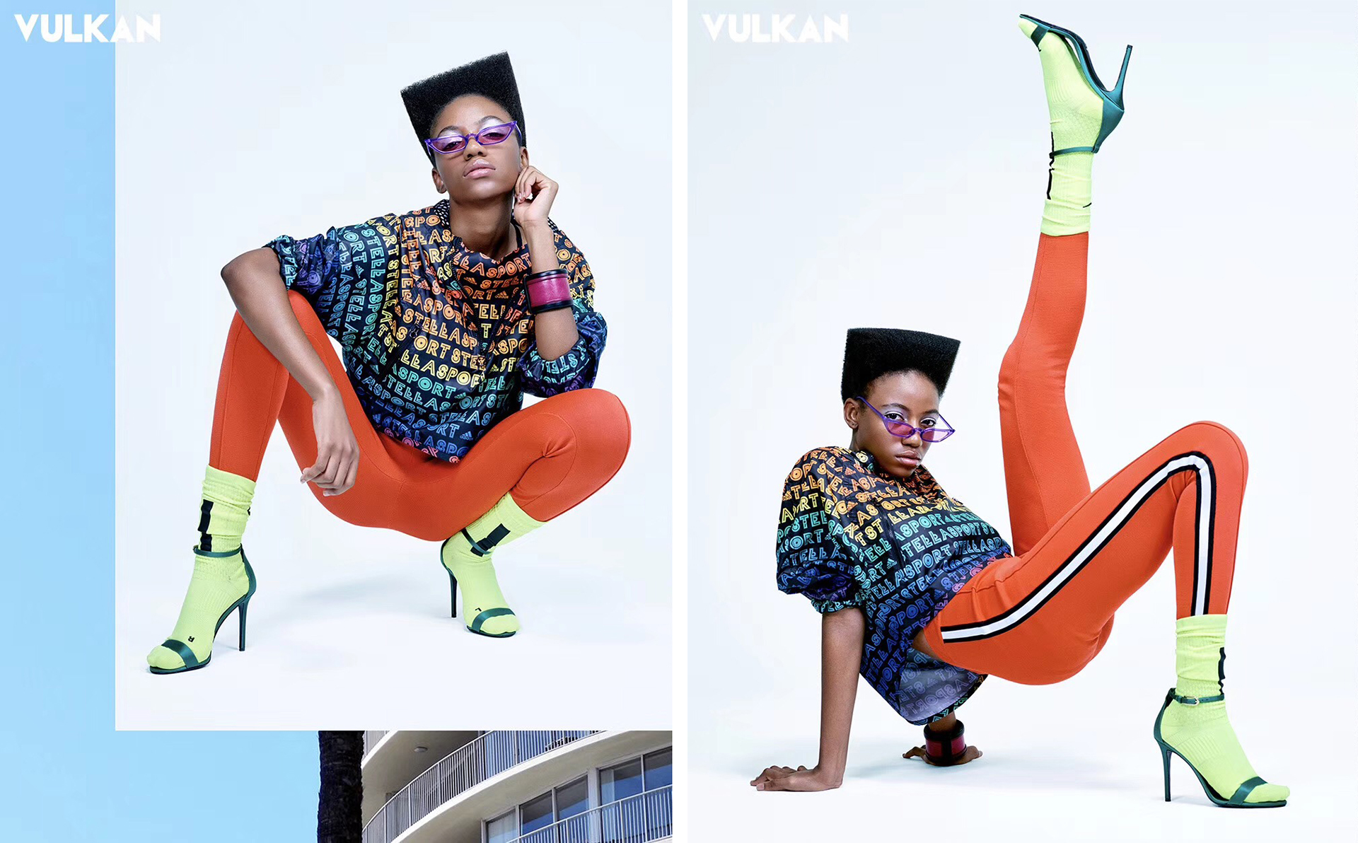 Christina Rateau poses for Vulkan