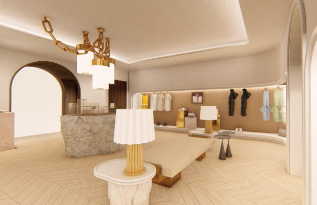 Rendering of the Webster at Rosewood Miramar Beach.