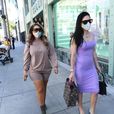 Los Angeles Retail Reopening amid COVID-19 Pandemic - 28 May 2020