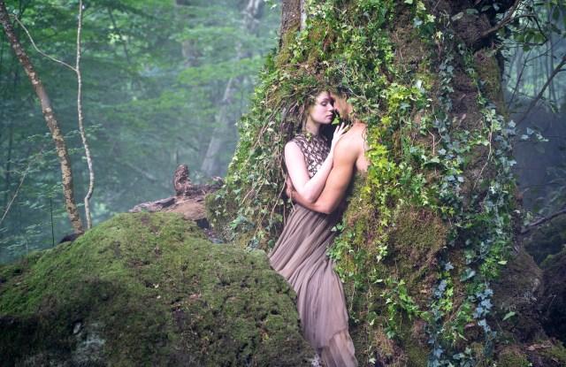 A still from Matteo Garrone's film for Dior