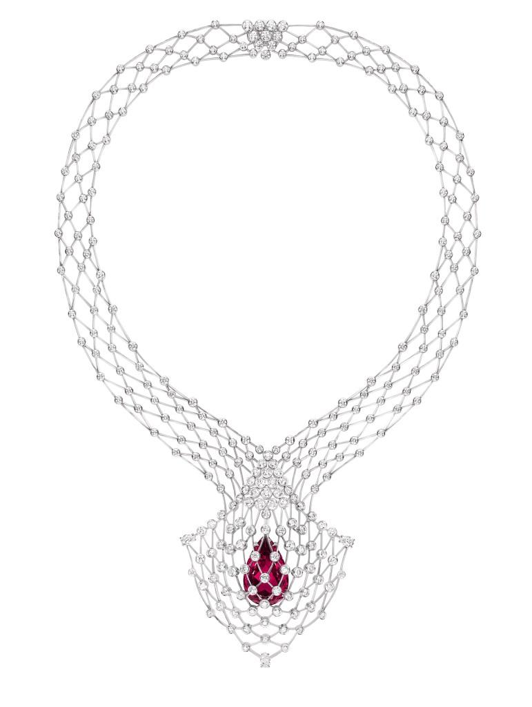 Chaumet's Lacis necklace.