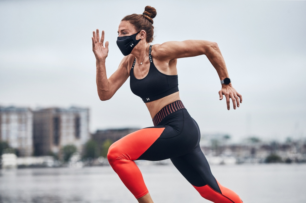Under Armour has created a Sportmask to use while working out.
