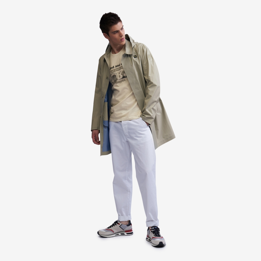 A look from Blauer USA men's spring 2021 collection.