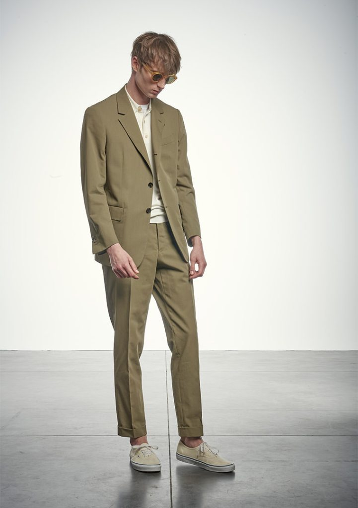 A look from Caruso men's spring 2021 collection.