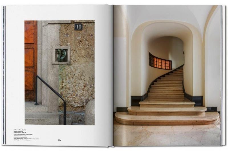 """Inside the """"Entryways of Milan. Ingressi di Milano"""" tome."""
