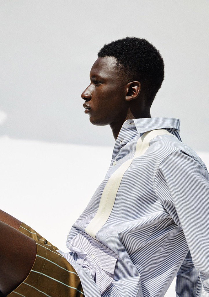 A look from Myar men's spring 2021 collection.